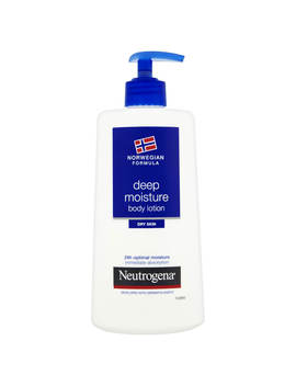 Neutrogena Norwegian Formula Deep Moisture Body Lotion For Dry Skin 400ml by Look Fantastic