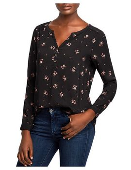 Cam Floral Print Top by Velvet By Graham & Spencer