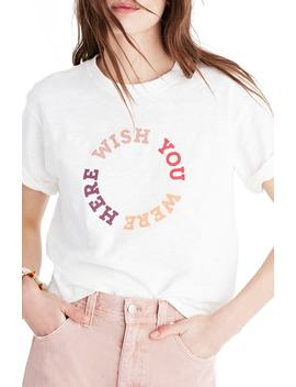 Chiara Graphic Tee by Madewell