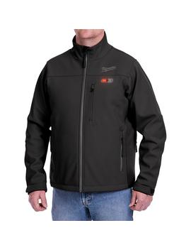 Men's Small M12 12 Volt Lithium Ion Cordless Black Heated Jacket (Jacket Only) by Milwaukee