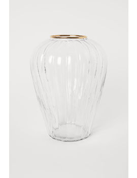 Vase Rainuré by H&M