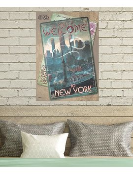 Fantastic Beasts 'magical Welcome' Mighty Print™ Wall Art by Trend Setters