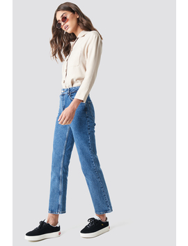 Front Pleat Jeans by Na Kd Trend