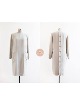 Juice Beauty Dress | M | 1970s Japan Vintage | Mint Pocket Dress by Etsy
