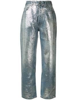 Pt05glitter Boyfriend Jeanshome Women Pt05 Clothing Boyfriend Jeans by Pt05