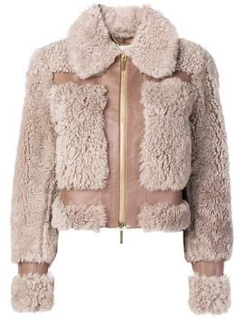 Zimmermannfront Zip Jackethome Women Zimmermann Clothing Fur & Shearling Jackets by Zimmermann