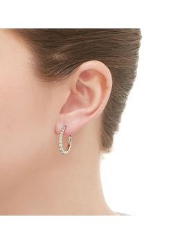 Effervescence Sterling Silver Small Hoop Earrings by Links Of London