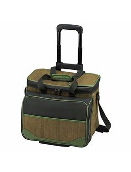 Picnic At Ascot Eco Picnic Cooler For 4 With Wheels by Picnic At Ascot