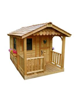 6 Ft. X 9 Ft. Sunflower Playhouse by Outdoor Living Today