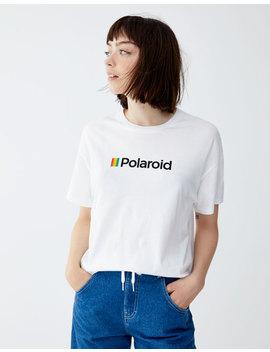 Short Sleeve Polaroid T Shirt by Pull & Bear