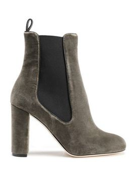 Velvet Ankle Boots by M Missoni