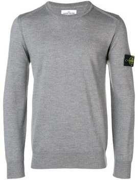 Pullover Mit Patch by Stone Island