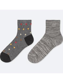 Boys Half Socks (Set Of 2) by Uniqlo