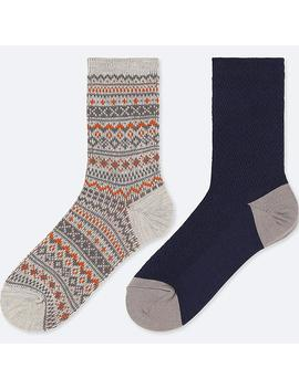 Boys Heattech Socks (Set Of 2) by Uniqlo