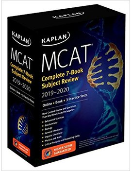 Mcat Complete 7 Book Subject Review 2019 2020: Online + Book + 3 Practice Tests (Kaplan Test Prep) by Kaplan Test Prep