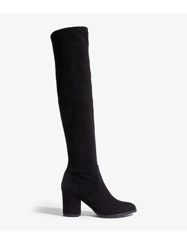Suede Over The Knee Boot by Fd300 Fd252 Fd300 Dd251 Fd027 Fd121 Zd517 Gd985