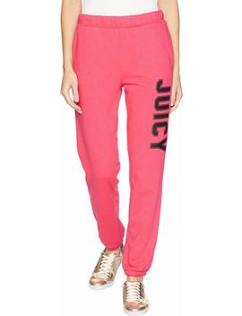 Juicy Couture Womens French Terry Logo Sweatpants by Juicy+Couture