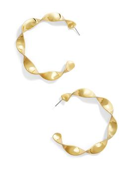 Twisted Metal Hoops by Baublebar
