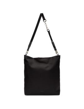 Black Cargo Adri Bag by Rick Owens