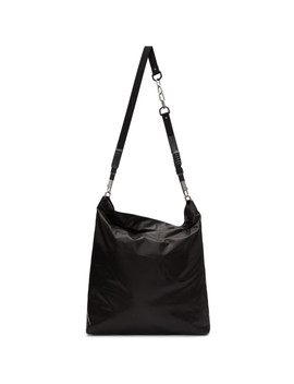 Black Mega Mail Bag by Rick Owens