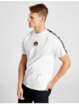 Ellesse Ferzio Tape T Shirt by Ellesse