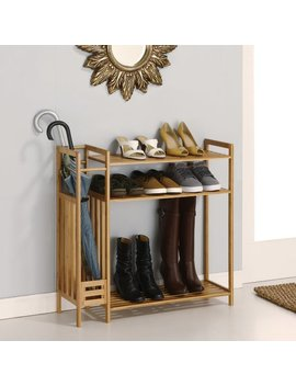 Rebrilliant Utility Entryway 9 Pair Shoe Rack & Reviews by Rebrilliant