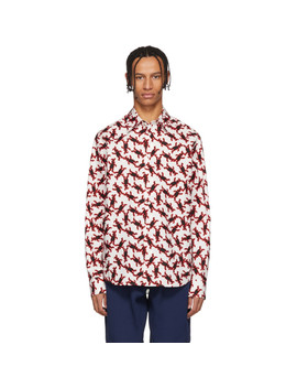 Multicolor Bunny Regular Fit Shirt by Marni Dance Bunny