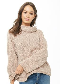 Chenille Cowl Neck Sweater by Forever 21