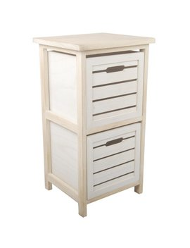 Highland Dunes Coleford Space Efficient 2 Drawer Storage by Highland Dunes