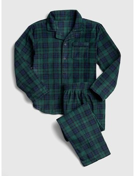 Plaid Pj Set by Gap
