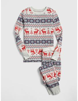 Fair Isle Pj Set by Gap