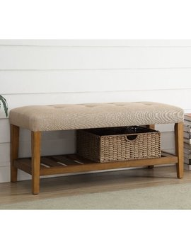 Charlton Home Warwickshire Wood Storage Bench & Reviews by Charlton Home