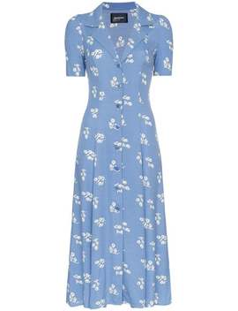 Clarice Floral Print Buttoned Dress by Reformation