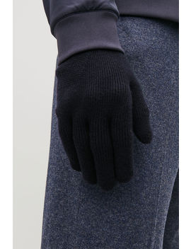 Merino Knitted Gloves by Cos