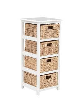 Beachcrest Home Kyoko 4 Drawer Wood Storage Chest & Reviews by Beachcrest Home
