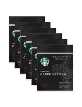 Starbucks® Verismo™ 72 Count Caffe Verona® Coffee Pods by Bed Bath And Beyond