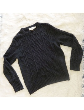 Men's Label Of Graded Goods Cable Knit Sweater by H&M