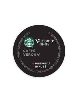 Starbucks® Verismo™ 12 Count Caffe Verona® Brewed Coffee Pods by Bed Bath And Beyond