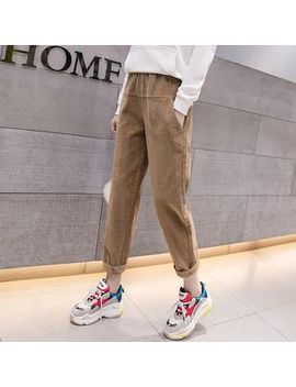 Muezz   Corduroy Jumper Pants by Muezz