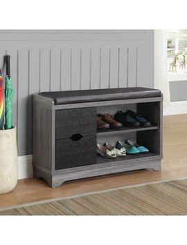 Red Barrel Studio Shoe Storage Bench & Reviews by Red Barrel Studio