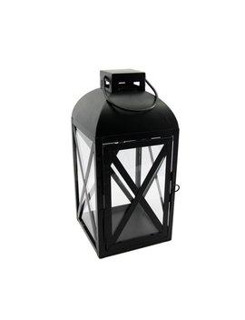 Mainstays Black Metal Lantern by Mainstays