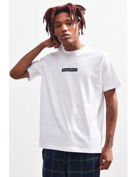 Raised By Wolves Registered Box Logo Tee by Raised By Wolves