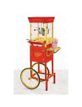 Nostalgia 53 In. Vintage Collection 6 Oz. Kettle Commercial Electric Popcorn Cart, Ccp510 by Nostalgia