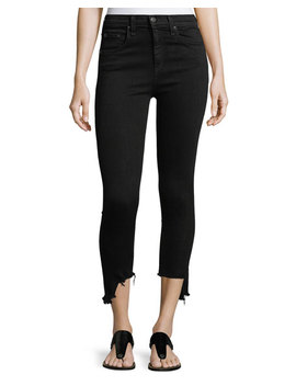 10 Inch Capri Jeans W/ Destroyed Hem by Rag & Bone/Jean