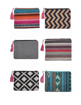 6 Pack Of Multi Colored Clutches by America & Beyond