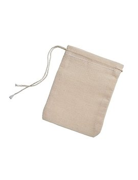 Cotton Muslin Bags 100 Count (2.75 X 3.75 Inches) Natural Drawstring, Made With 100 Percents Cotton In The... by Celestial Gifts
