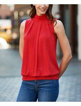 Ruby Sleeveless Top   Women by Zenana