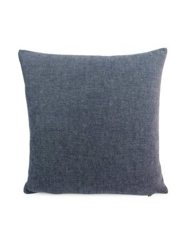 Indigo Blue Solid Pillow Cover 18x18, 20x20, 22x22 Eurosham Or Lumbar Cushion, Shabby Chic Accent Pillow, Ellen Degeneres, Cleary Indigo by Etsy