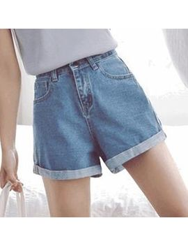 Romantica   High Waist Denim Shorts by Romantica