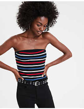 Ae Multi Stripe Sweater Tube Top by American Eagle Outfitters